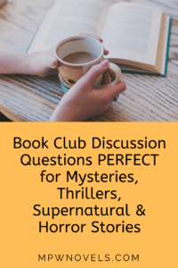 photograph relating to Printable Book Club Questions identified as Ebook Club Conversation Issues for Emotional Thrillers